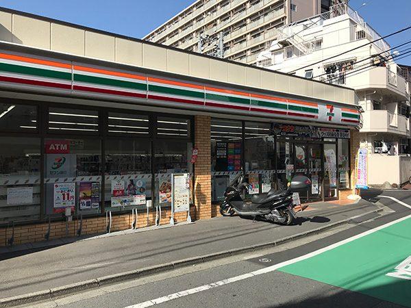 セブンイレブン高田馬場三丁目中央店(徒歩3分)